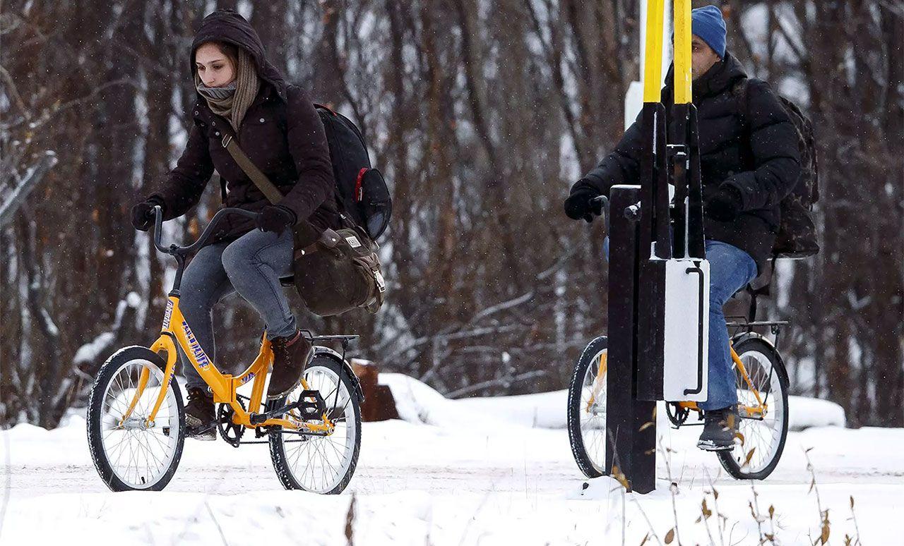 Mitas téli kerékpár gumi