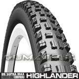 62-584 27,5x2,45 R02 Highlander DH Supra Max Textra+ hajtogatható Mitas kerékpár gumi